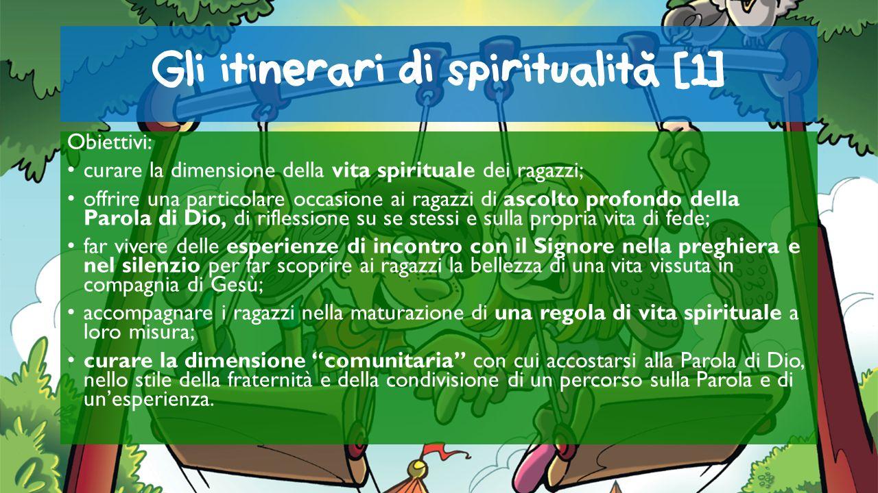 Gli itinerari di spiritualita [1]